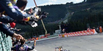 Ricciardo es el nuevo rey en Bélgica