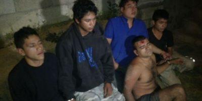 FOTOS. La PNC captura a presuntos pandilleros y les decomisa un arsenal