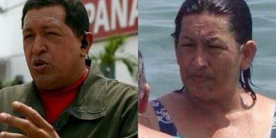 """Mujer """"idéntica"""" a Hugo Chávez causa furor en redes sociales"""