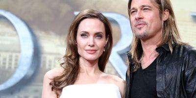 FOTO: Este es el vestido que usó Angelina Jolie en su boda con Brad Pitt