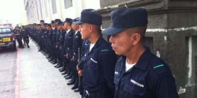 FOTOS: PNC resguarda seguridad en Congreso