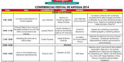 Son 10 años de historia del Festival de Antigua