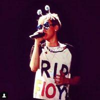 La cantante bailó con la badera mexicana Foto:Instagram @mileycyrus