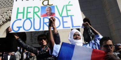 Manifestaciones en Francia en homenaje al rehén asesinado
