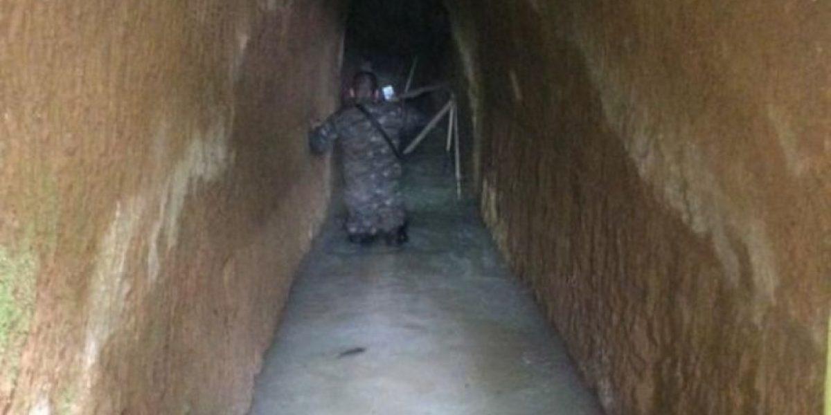 Ejército descubre túnel subterráneo en Los Pajoques