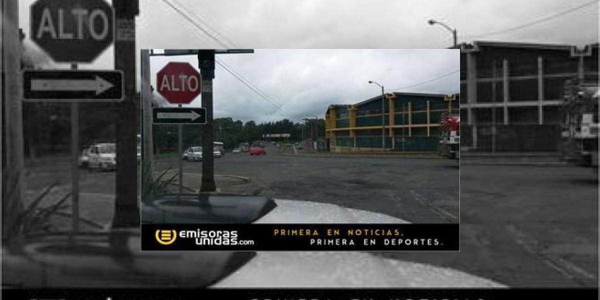 Sin buses en La Antigua