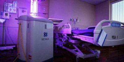 Little Moe, la máquina que destruye el virus del ébola