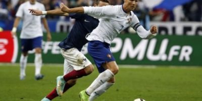Benzema le ganó la partida a Cristiano Ronaldo en el Francia-Portugal