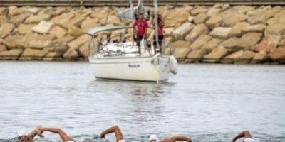 Seis israelíes llegan nadando a Israel desde Chipre