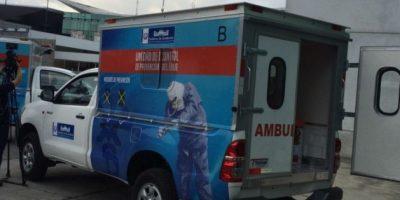 Galería. Presentan equipo para combatir el ébola