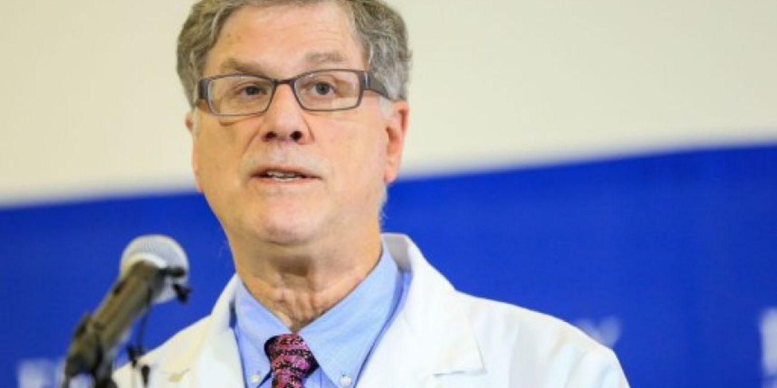 El ministro de salud… Foto:AFP
