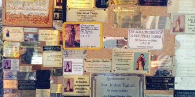 Fieles veneran a San Judas Tadeo, patrono de las causas imposibles