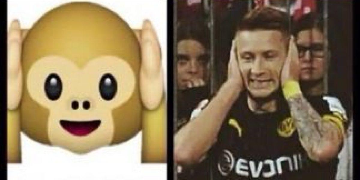 Las extrañas celebraciones de Marcus Reus son emoticones de WhatsApp