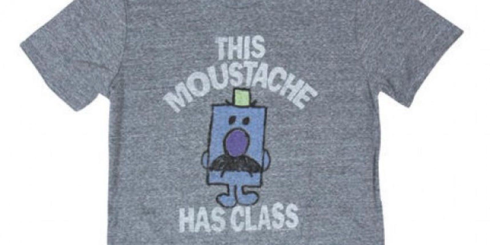 Playeras Movember Mr. Happy and Mr. Grumpy – US$38 – www.bloomingdales.com