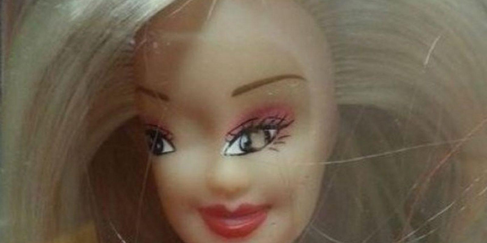 Barbie diferente. Foto:Reddit