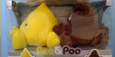 Pipí y Popó. Ir al baño no había sido nunca tan tierno. Foto:Reddit
