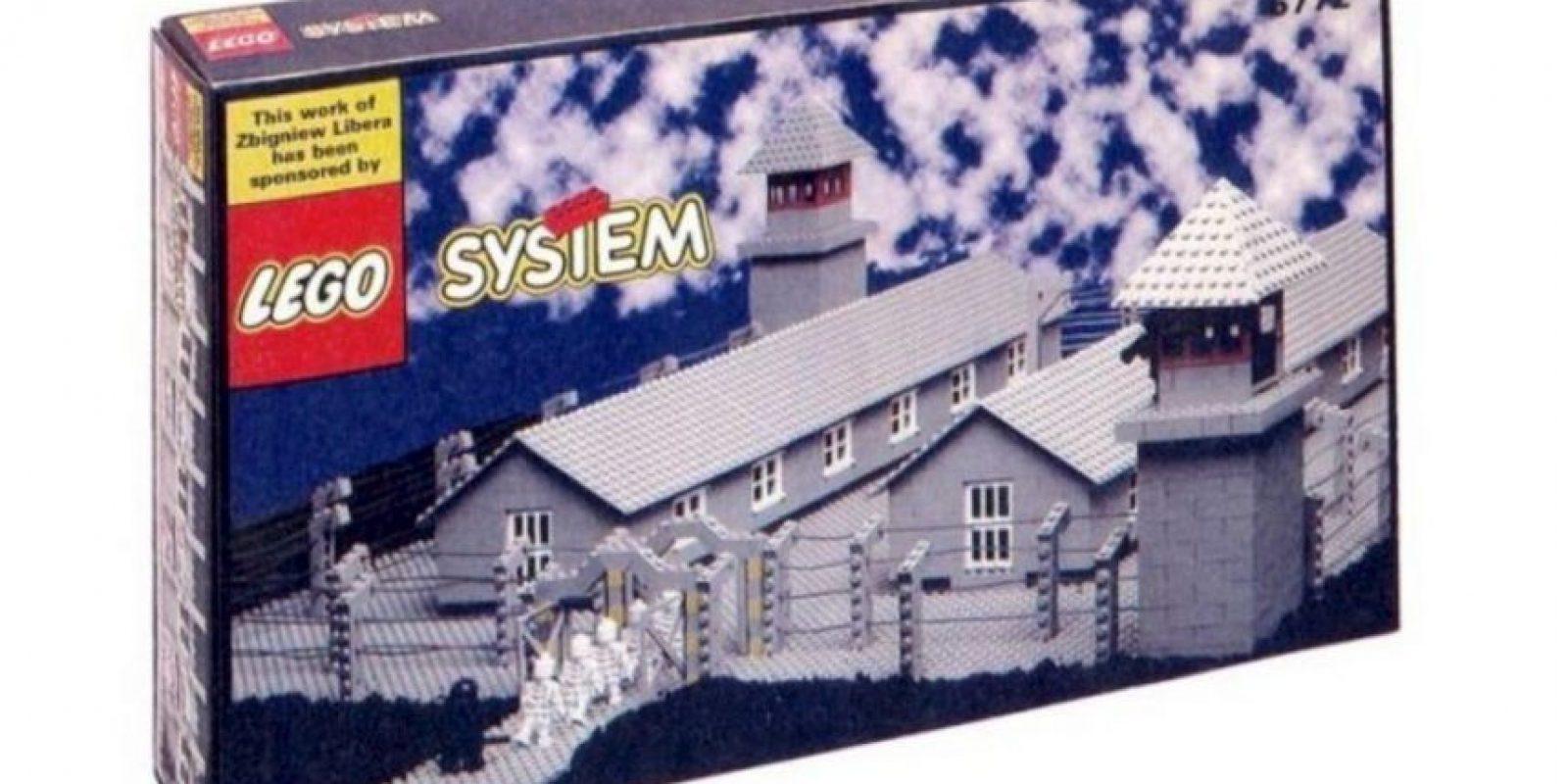 Lego campo de concentración Foto:Reddit