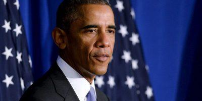 """5. El mandatario aseguró en conferencia de prensa que los republicanos """"tuvieron una buena noche"""", tras la victoria. Foto:Getty"""