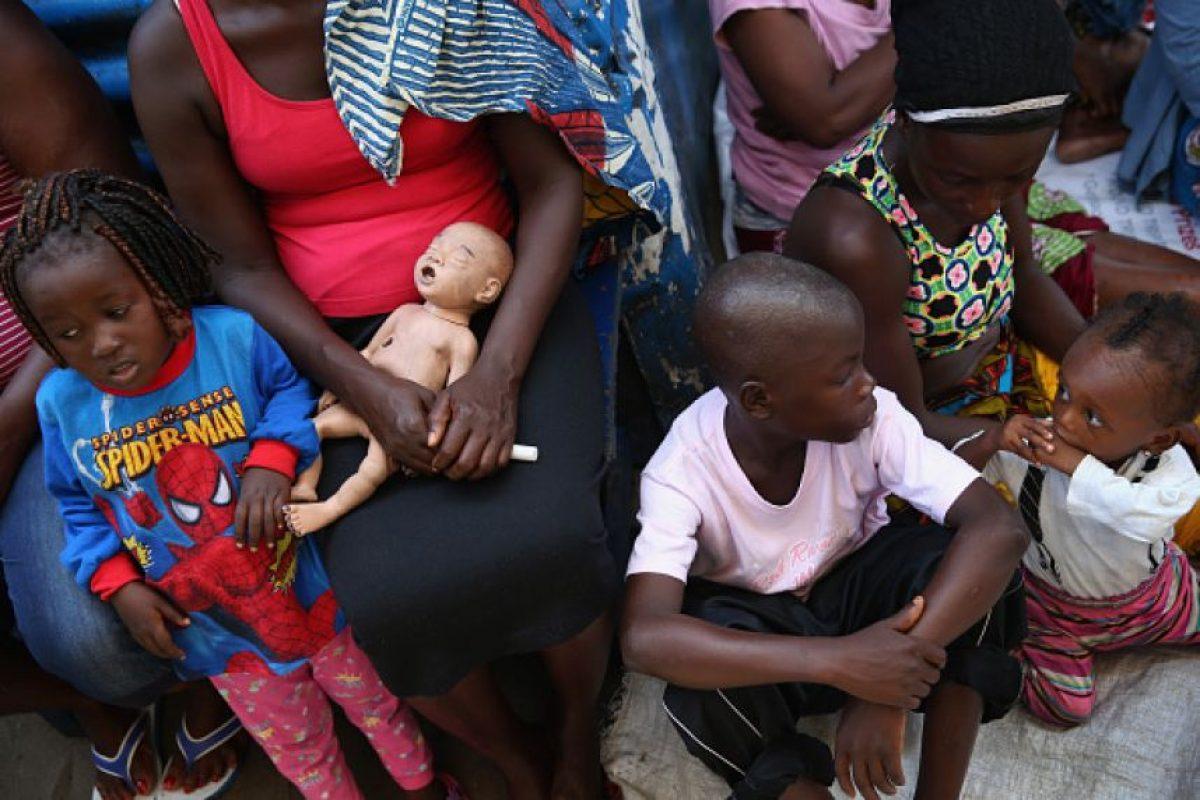 Sierra Leona también ha reportado mil 70 fallecimientos Foto:Getty Images