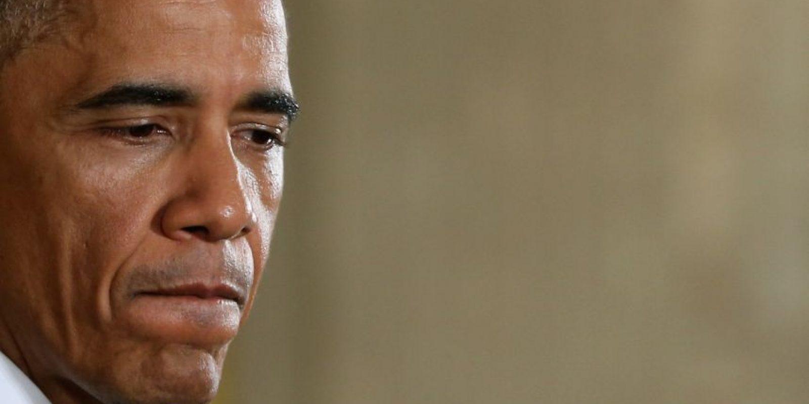 """10. """"Mi objetivo número uno es … para ofrecer todo lo que pueda por el pueblo estadounidense en estos dos últimos años"""", afirmó Obama. Foto:Getty"""