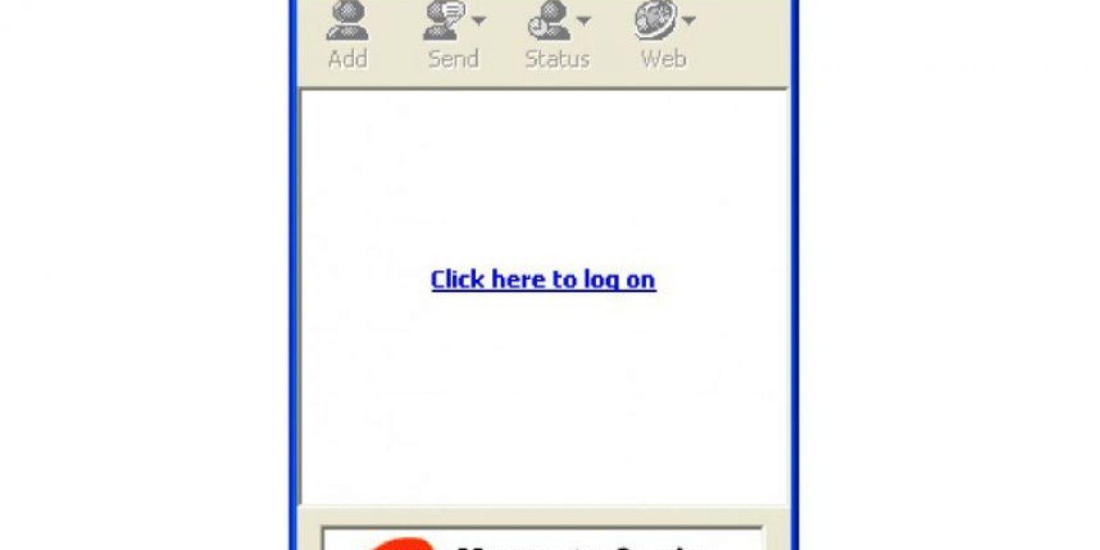 """En 1999 nació MSN Messenger como un chat que permitía agregar contactos de """"Hotmail"""" e interactuar con ellos en tiempo real. Foto:marcelopedra.com.ar"""