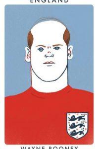 El inglés Wayne Rooney con un aspecto parecido al de Sir Bobby Charlton. Foto:twitter.com/chrismoranART
