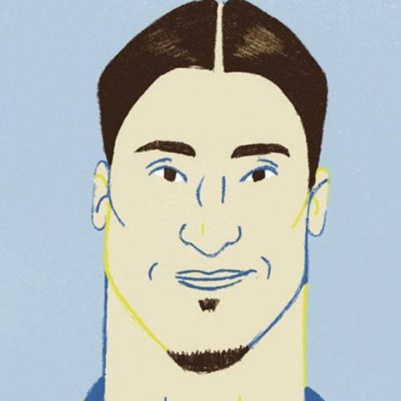 El sueco Zlatan Ibrahimović en un aspecto retro. Foto:instagram.com/whatahowler