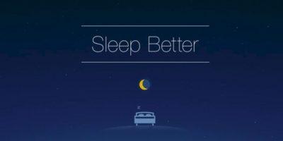 Runtastic Sleep Better: La app con la que podrán dormir más y mejor