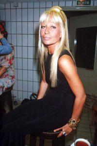En backstage, en 1993 Foto:Vogue