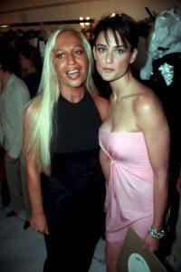 Con Demi Moore, en 1997 Foto:Vogue
