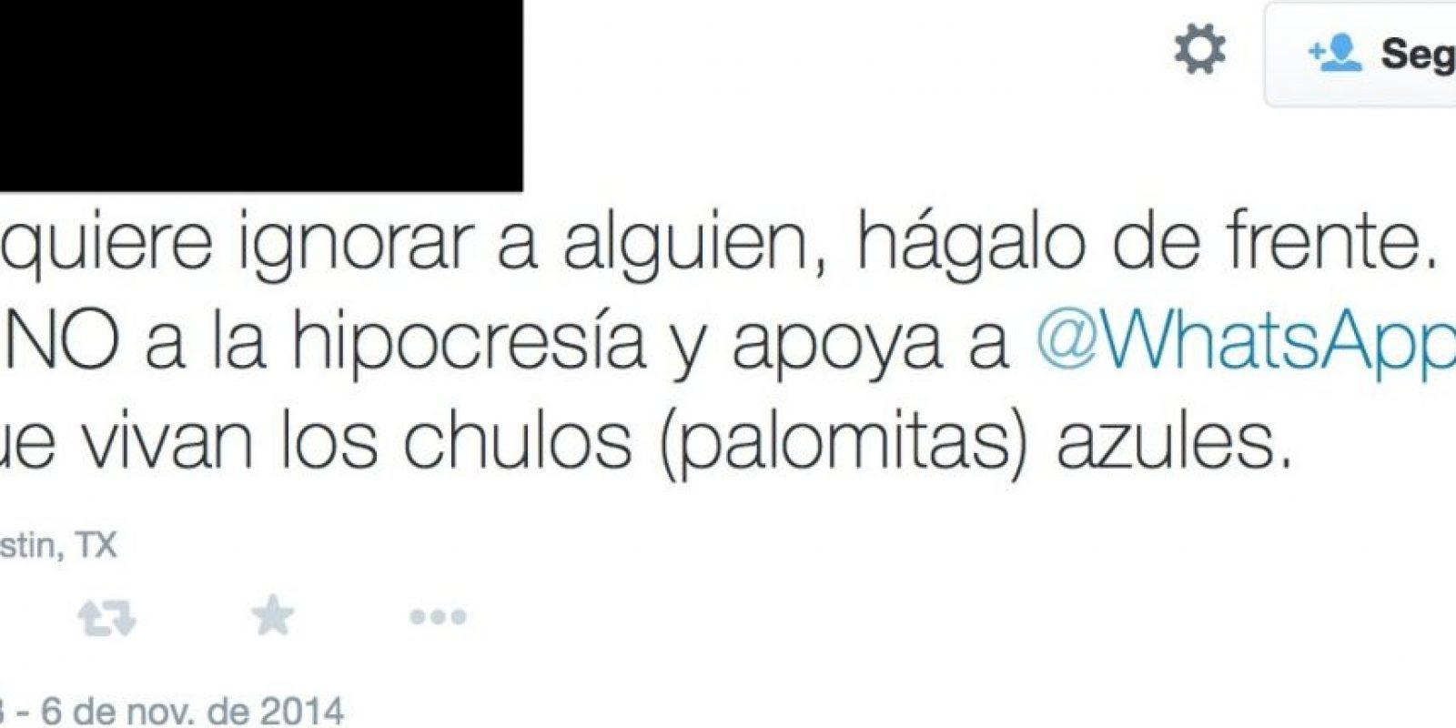 El que defiende a la compañía como si fuese Malala o Simón Bolívar Foto:Twitter