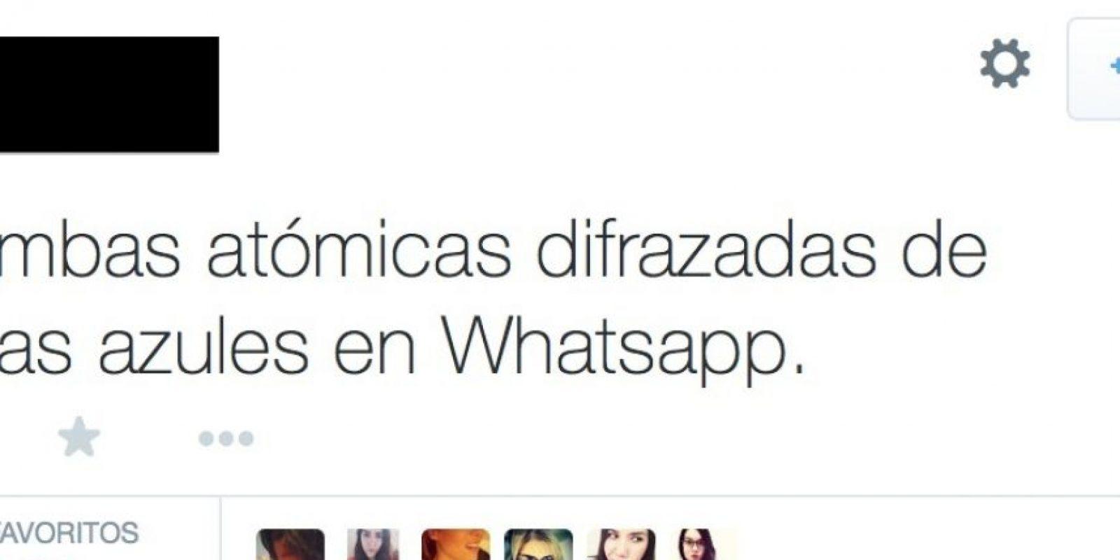 """Una """"ternurita"""" de apología. Foto:Twitter"""