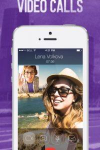 … y Viber, que ofrecen mensajes instantáneos, videollamadas, intercambio de archivos y el uso de emoticones Foto:iTunes
