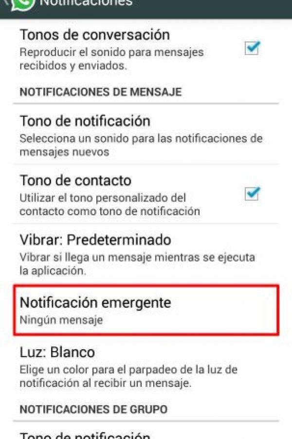 Dar clic en Notificaciones Emergentes Foto:Publimetro