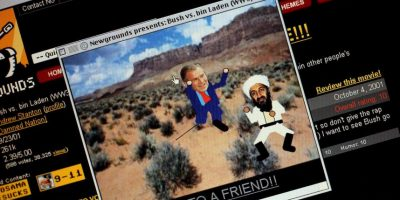Videojuegos inspirados en contra del líder de Al Qaeda, en 2001 Foto:Getty Images