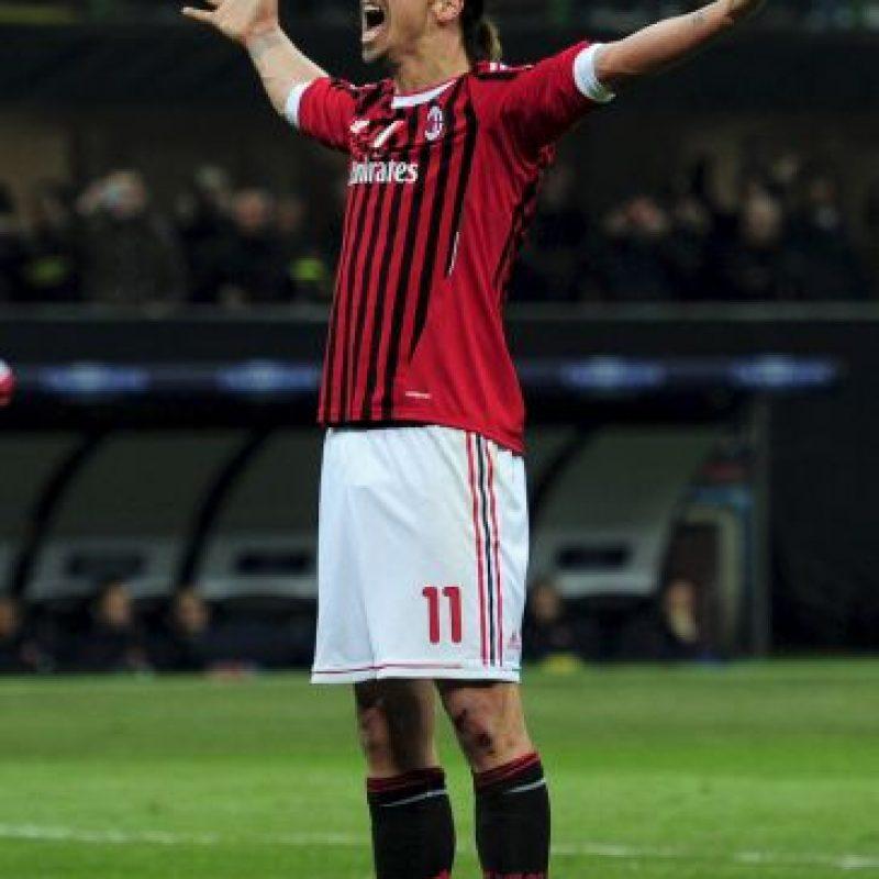 Regresó a la Serie A con el Milán en 2010 Foto:Getty