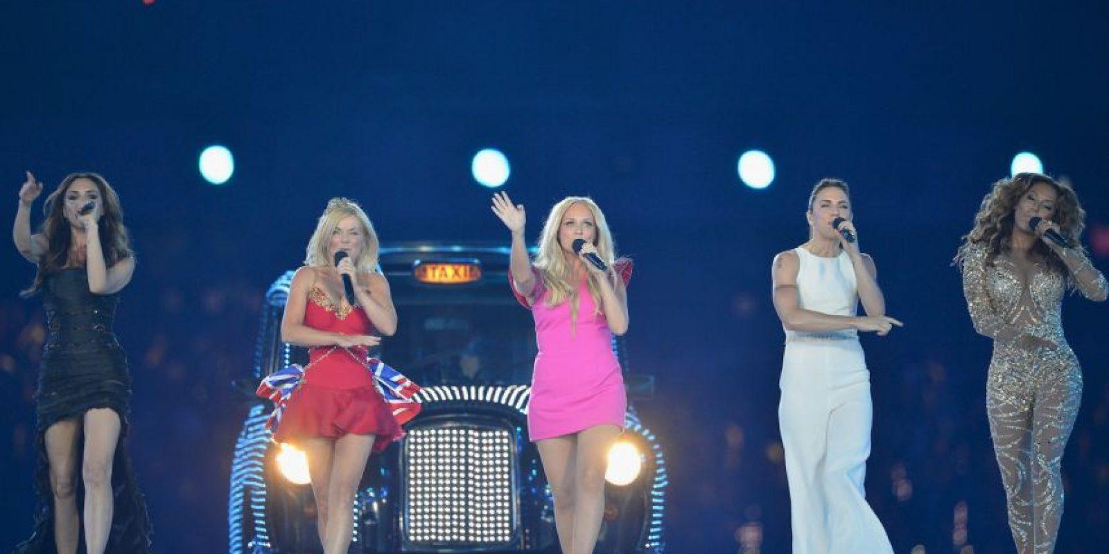 En 2012, nos volvieron a sorprender con su fantástica actuación en la clausura de los Juegos Olímpicos de Londres Foto:Getty Images