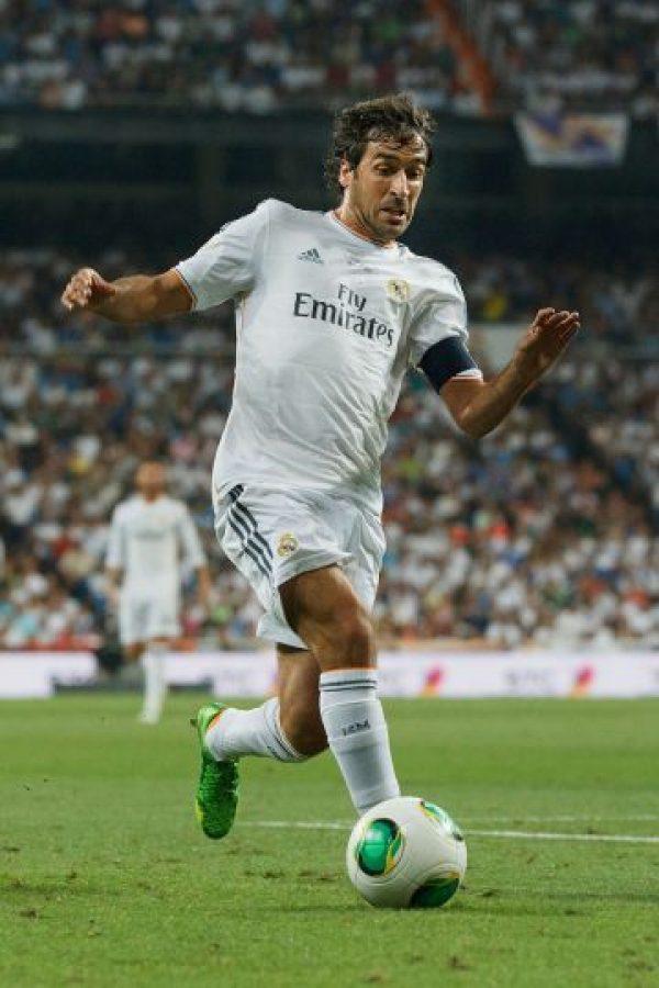 """""""El Ángel de Madrid"""" fue el primero en llegar a los 71 goles; lo hizo en 144 partidos disputados, por lo que tuvo un promedio de gol de 0.49 goles por cotejo Foto:Getty"""