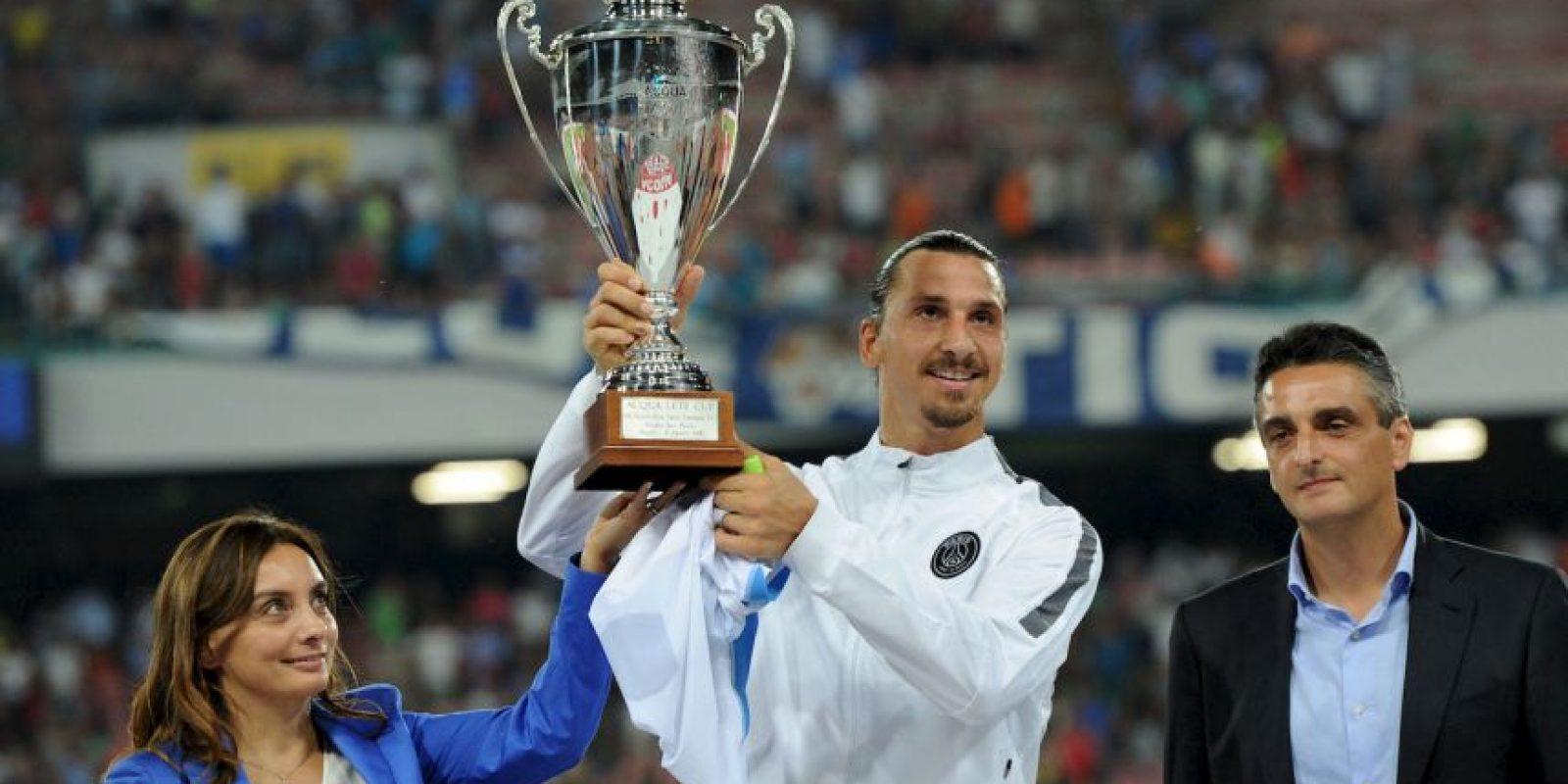 Ha ganado dos Ligas de Francia y dos Supercopas de Francia Foto:Getty