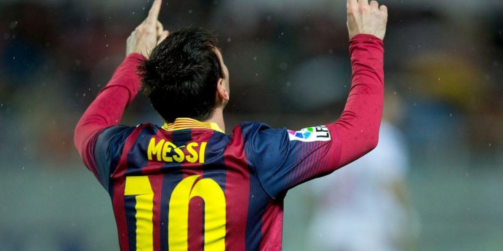 1. Igualó a Raúl González como los máximo anotadores de la Champions con 71 goles Foto:Getty