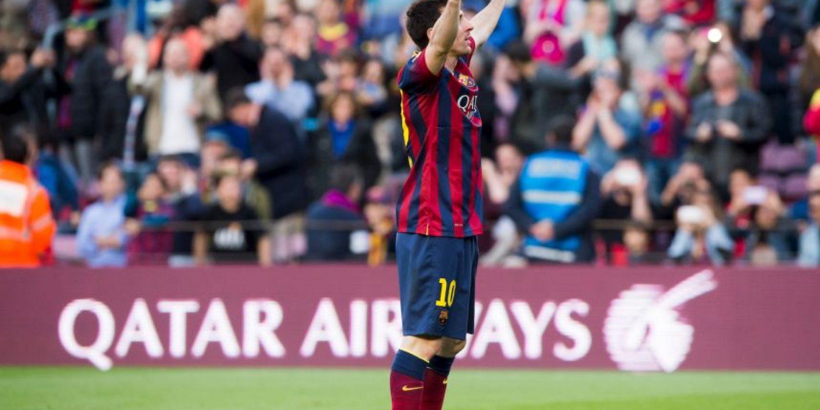5. Máximo goleador para un mismo club en la Liga de Campeones: 71 con el Barcelona Foto:Getty