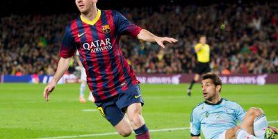 10. Mayor cantidad de partidos con tres o más goles anotados en la Liga en una misma temporada: ocho en 2011-12 Foto:Getty