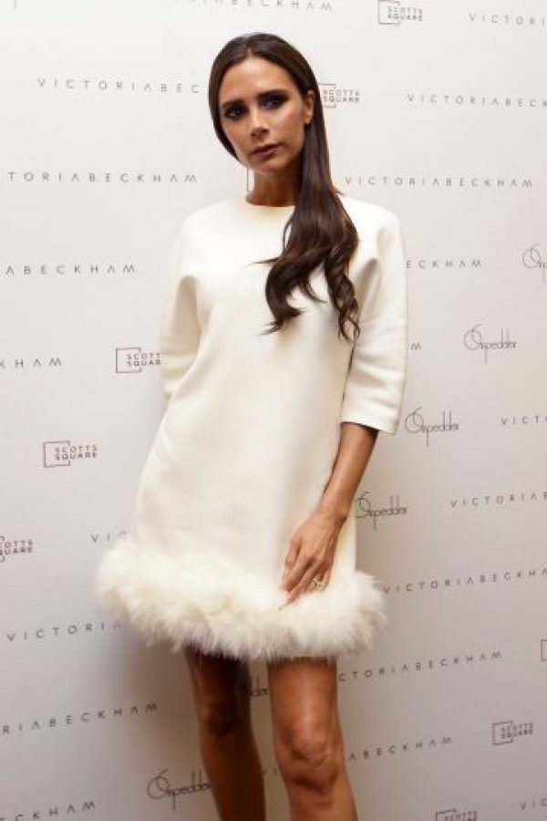 2014. Acaba de abrir en Londres la primera flagship store de su marca de ropa. Tiene gran éxito como diseñadora. Foto:Getty Images