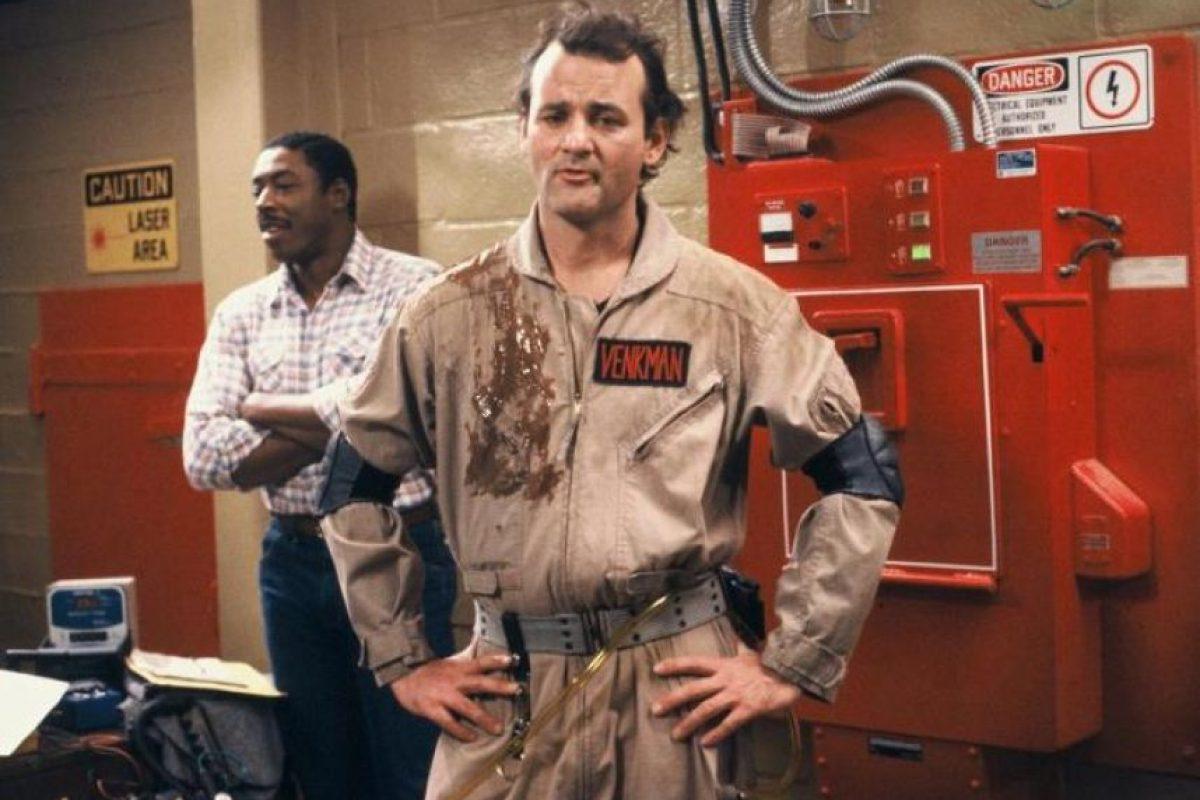 Bill Murray interpretó a Peter Venkman Foto:Facebook/Ghostbusters