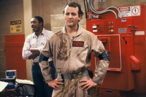 Bill Murray interpretó a Peter Venkman Foto: Facebook/Ghostbusters