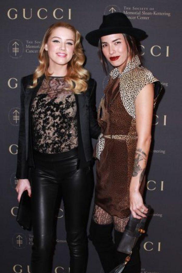 Su relación lésbica terminó meses antes de su romance con Depp. Foto: Getty