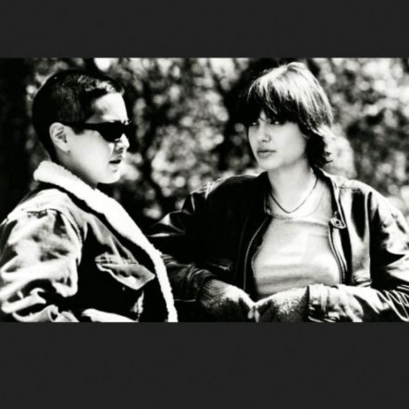 """La modelo y la actriz se conocieron en la filmación de la película """"Foxfire"""" Foto:Vía IMDB"""