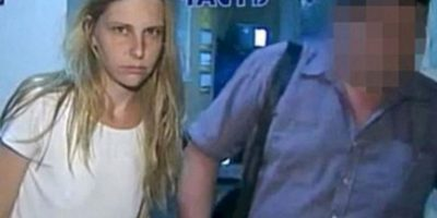 """Galina Ryabkova: Lanzó a sus hijos del decimoquinto piso porque """"estaba harta de ellos"""". Apenas la interrogó la policía, confesó. Se cree que sufría de problemas financieros, y por eso los habría asesinado. Foto: Murderpedia."""