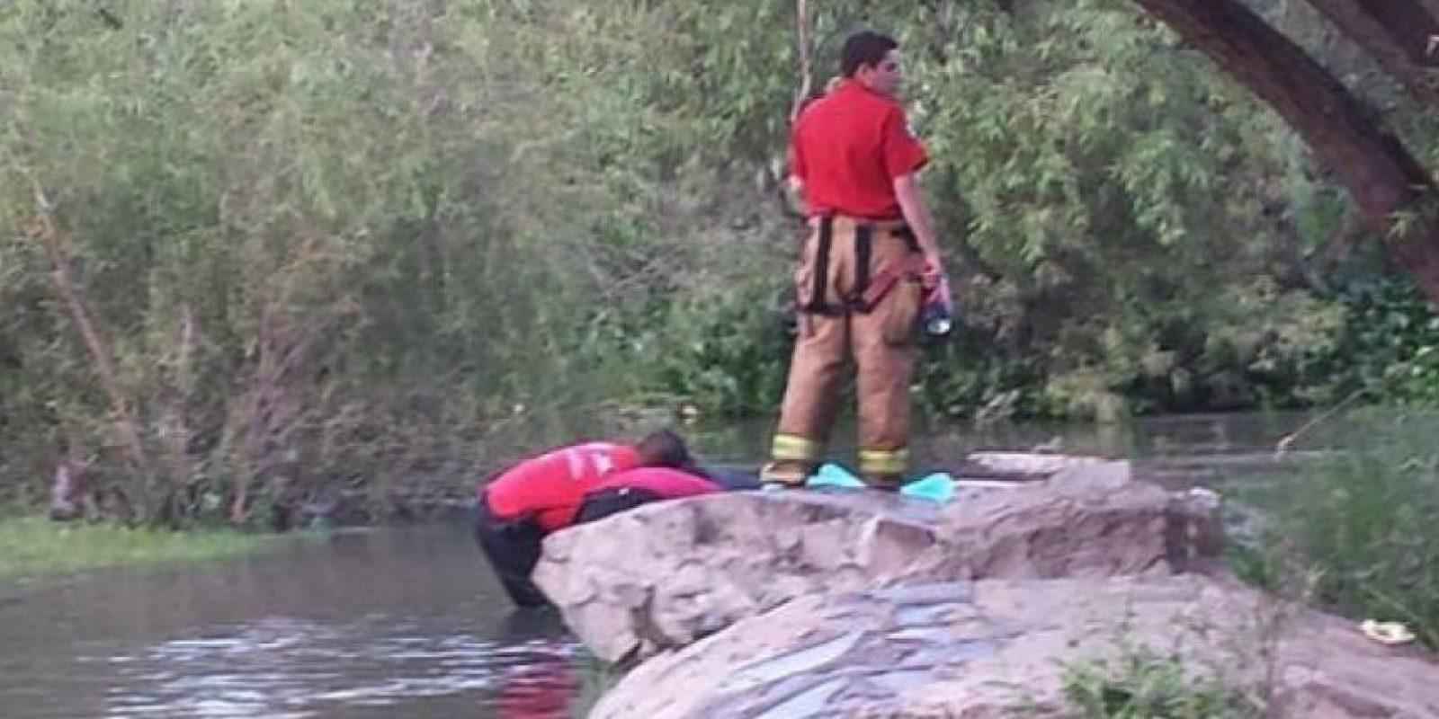 Pamela Hernández cayó al agua y se ahogó Foto:Vía Protección Civil de México