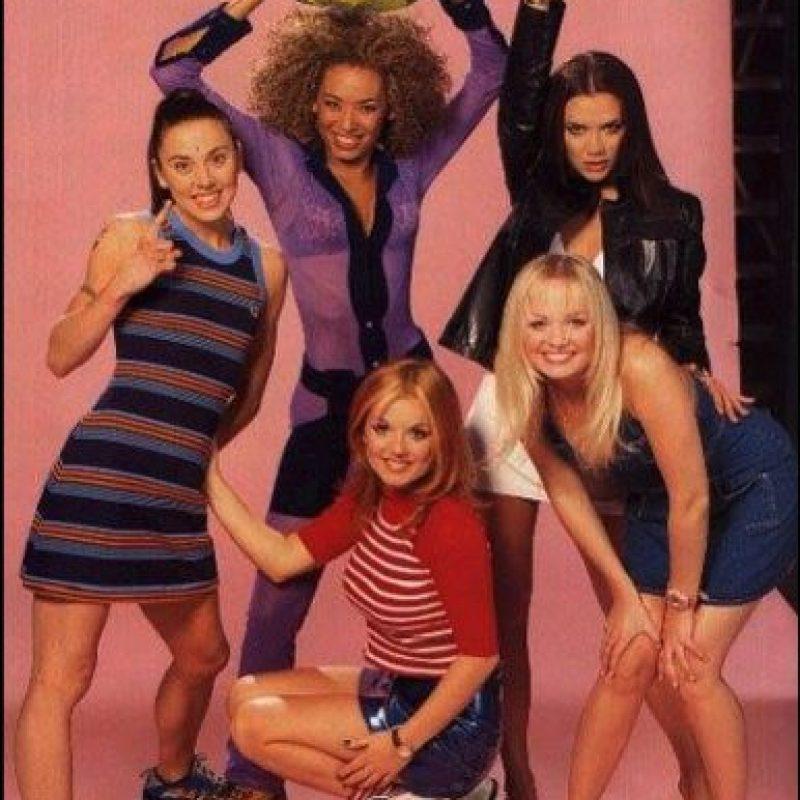 """""""Wannabe!"""" es el single más vendido del mundo por un grupo femenino Foto:Facebook """"The Spice Girls"""""""